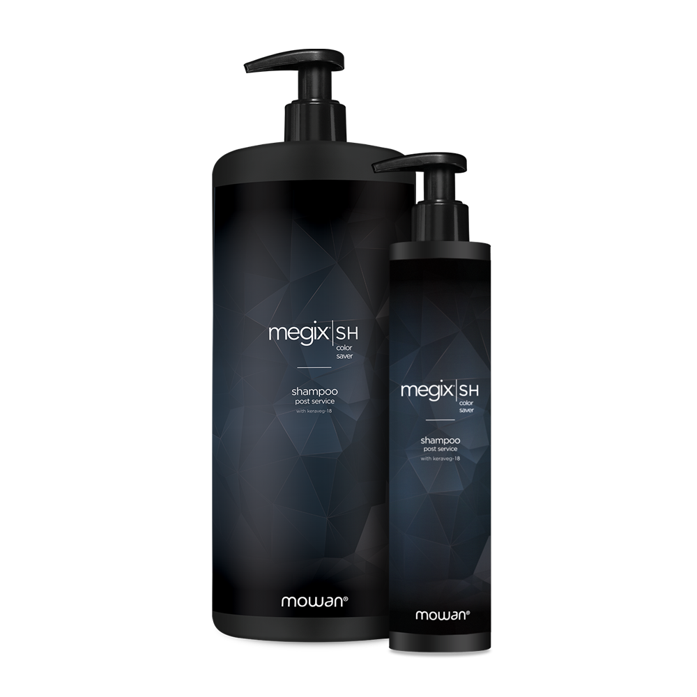 hair colouring system - megix post service shampoo