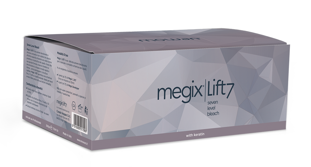 Megix Lift 7 bleach powder box