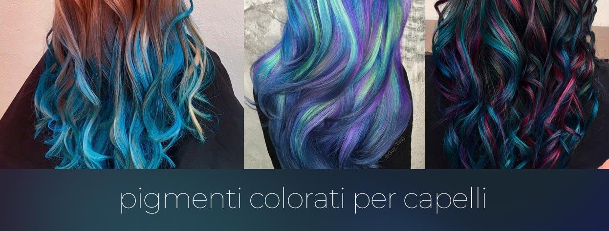 Pigmenti Colorati per Capelli